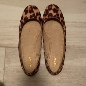 New leopard old Navy Ballerina Flats